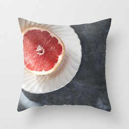 A Healty Start - Foodie Throw Pillow