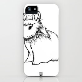 Boss Rabbit iPhone Case