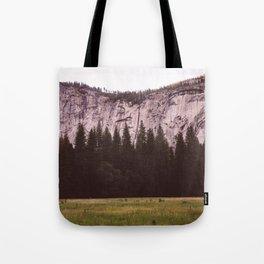 Yosemite Valley V Tote Bag