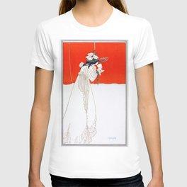Isolde - By Aubrey Beardsley - Vintage Art Nouveau Print T-shirt