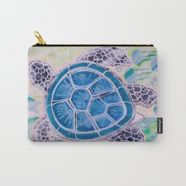 Sea Turtle Geodes Carry-All Pouch