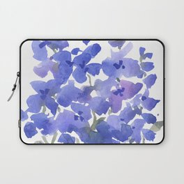 Beautiful Blue Delphiniums Laptop Sleeve