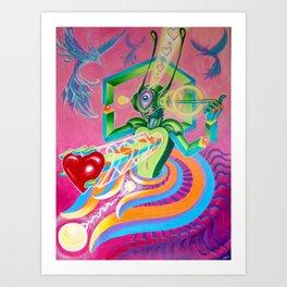 """Love AmBASSador"" by Adam France Art Print"