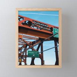 broadway Framed Mini Art Print