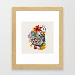 Fancy Snake Framed Art Print