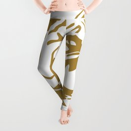 I'm with you till the end of the line funny Leggings