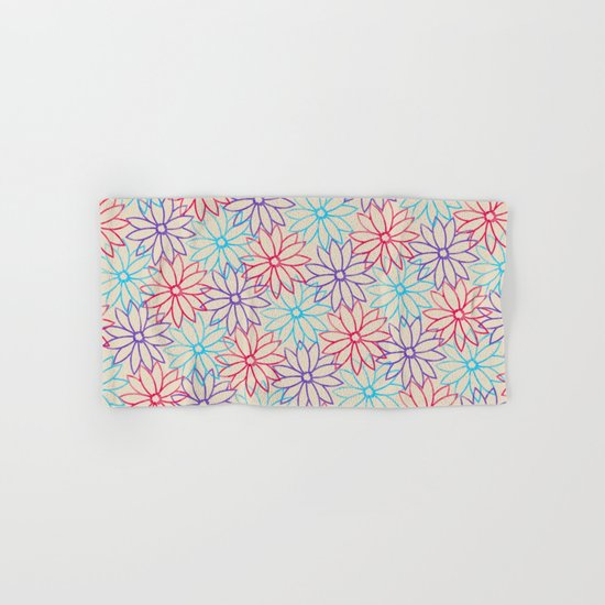 Floral pattern  Hand & Bath Towel
