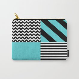 Blue B&W Carry-All Pouch