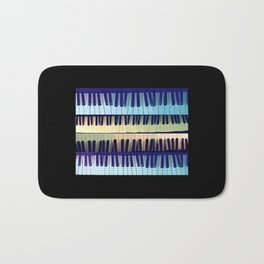 piano1 Bath Mat