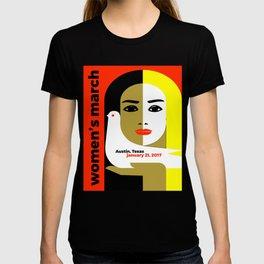 Women's March On Austin Texas 2017 T-shirt