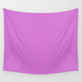 French Mauve #D473D4 Wall Tapestry