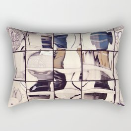 Pale Reflections Rectangular Pillow
