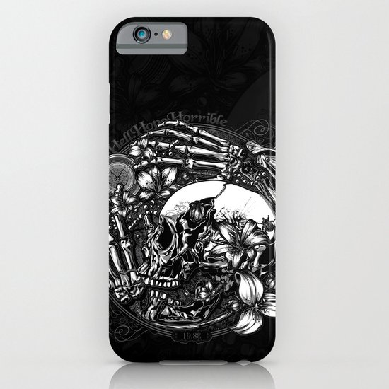 Hell Hope Horrible iPhone & iPod Case