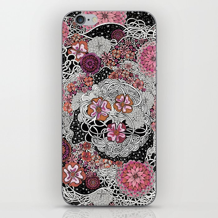 Tangled up in Blooms iPhone Skin