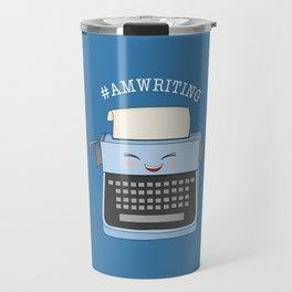 #AmWriting Travel Mug