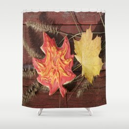 """""""Delicious Autumn II"""" jjhelene design Shower Curtain"""