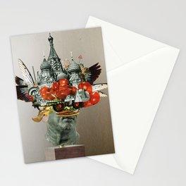 TomatenSalatStatue Stationery Cards