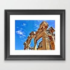 Ephesus Arch Framed Art Print
