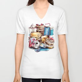 Cheat Day Unisex V-Neck