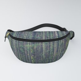 forest landscape photography tree background - trees vintage style Fanny Pack