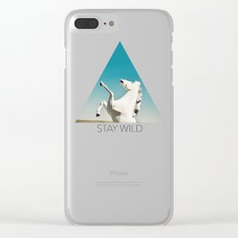 Guardian of the Plains Clear iPhone Case