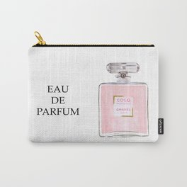 Classic Pink Parfum Carry-All Pouch