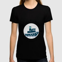 I Like Big Boats And I Cannot Lie Boating Funny T-shirt
