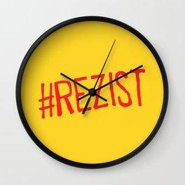 romanian manifest slogan Wall Clock