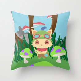 TEEMO Throw Pillow