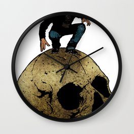 Leroy And The Giant's Giant Skull Wall Clock