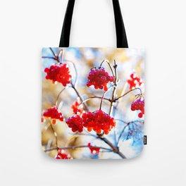Arrowwood Berries Tote Bag