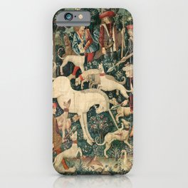 The Unicorn Defends Itself iPhone Case
