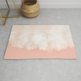 Cotton candy in beige pink Rug