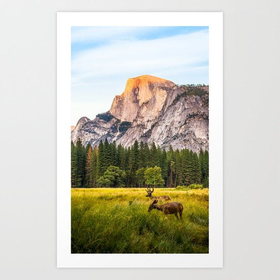 Other Side of the Mountain Art Print