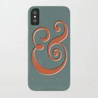 ampersand iPhone & iPod Cases featuring Ampersand by Bill Pyle