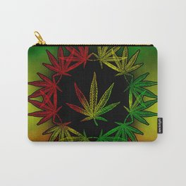 Rasta Leaf Carry-All Pouch
