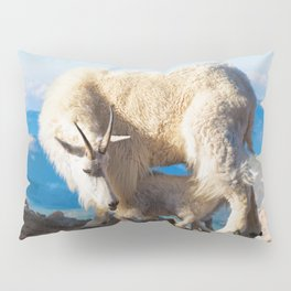 Mountain Goats Nanny And Kid Pillow Sham