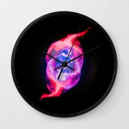Cat's Eye Wall Clock
