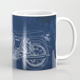 1969 triumph bonneville classic vintage motorcycle christmas gift Coffee Mug