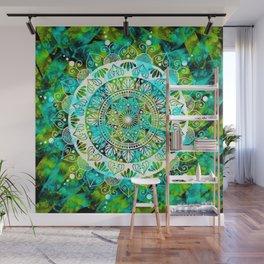 Cosmic Mandala Wall Mural