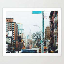 Bowery Art Print