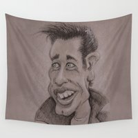 danny haas Wall Tapestries featuring Danny by chadizms