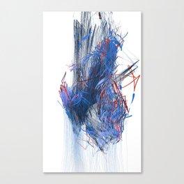 Unwelcome Gaze – Facebook 5 Canvas Print