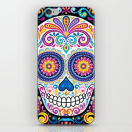 Sugar Skull (Cosmos) iPhone Skin