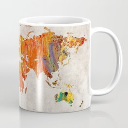 World Map 53 Coffee Mug