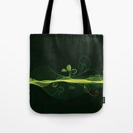 Glowing Vines Tote Bag