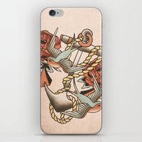 anchor iPhone & iPod Skins featuring Anchor by Chase Kunz