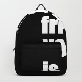 Is It Friday Yet? Backpack