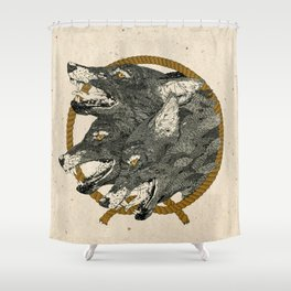 Hand that Feeds. Shower Curtain
