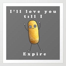 Twinkie Love Art Print